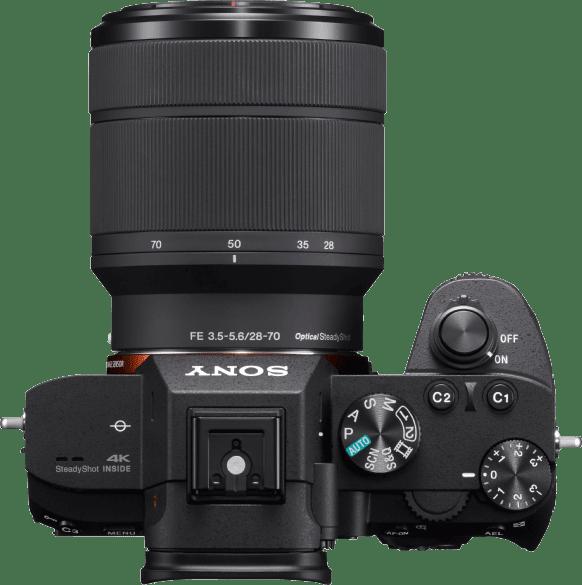 Black Sony Alpha 7 II kit + 28-70mm lens.3