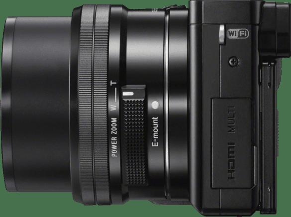 Black SONY Alpha 6000 Kit System Camera (Lens + Bag + SD Card).3