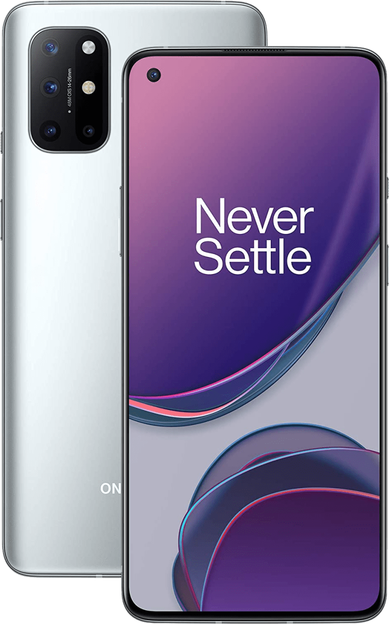 Silver OnePlus Smartphone 8T - 128GB - Dual.1
