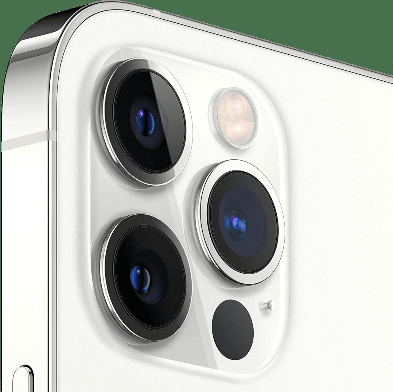 Silver Apple iPhone 12 Pro Max - 512GB - Dual Sim.4