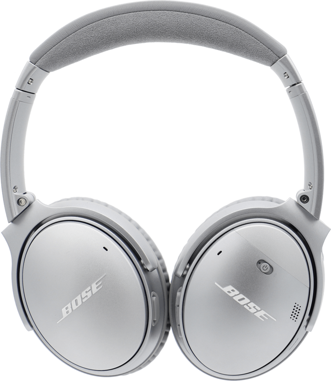 Silver Bose Quietcomfort 35 II Noise-cancelling Over-ear Bluetooth Headphones.3