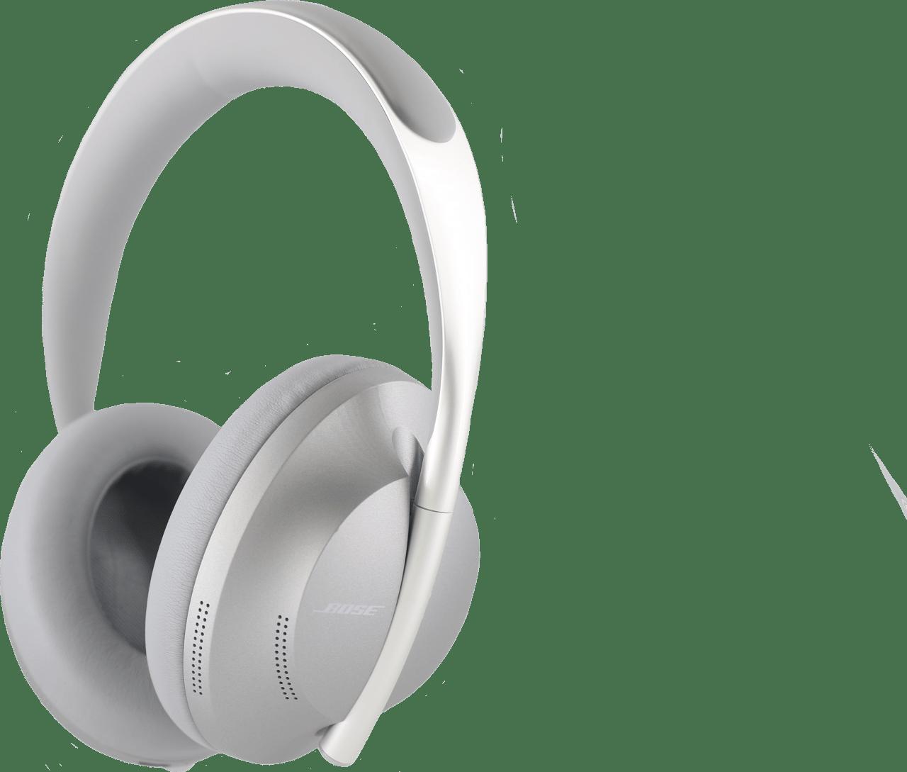 Silver Bose 700 Over-ear Bluetooth Headphones.1