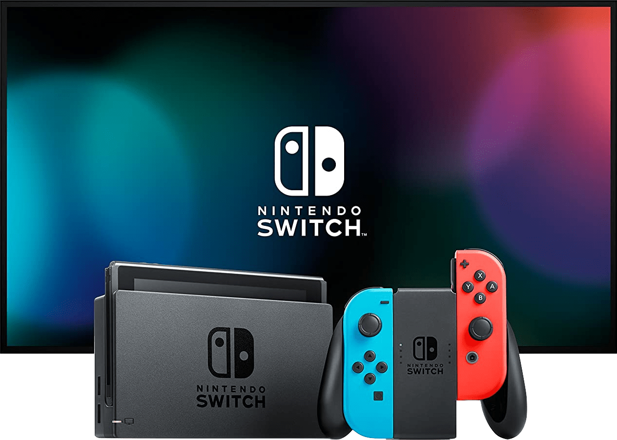 Neon Red / Neon Blue Nintendo Switch - 32GB (2019 Edition).4