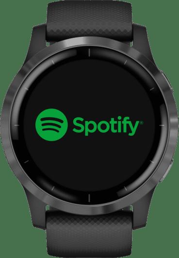 Black Garmin Vivoactive 4 GPS Sports watch.4