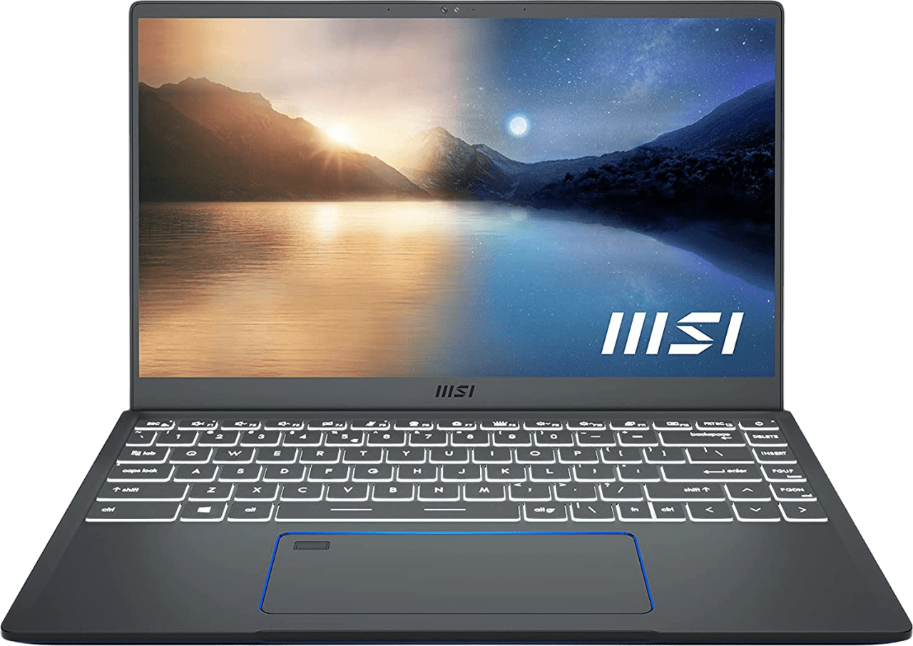 Silver MSI Prestige 14Evo A11M-430NL - English (QWERTY) Laptop - Intel® Core™ i5-1135G7 - 16GB - 512GB SSD - Intel® Iris® Xe Graphics.1