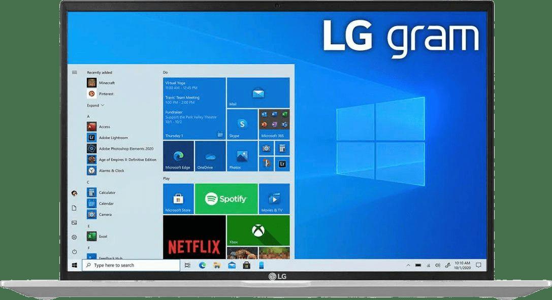 Silber LG gram 14 Notebook - Intel® Core™ i7-1165G7 - 16GB - 1TB SSD - Intel® Iris® Xe Graphics.1