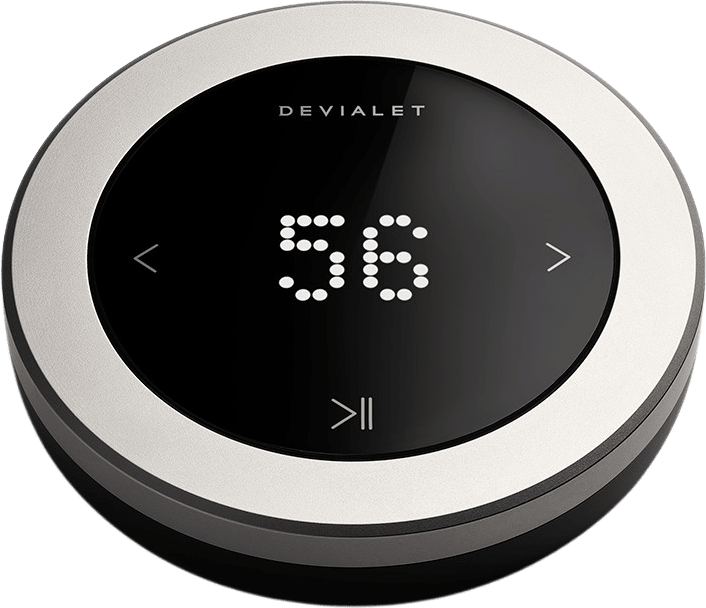 Matt Black Devialet High Precision Remote Control for Phantom.1