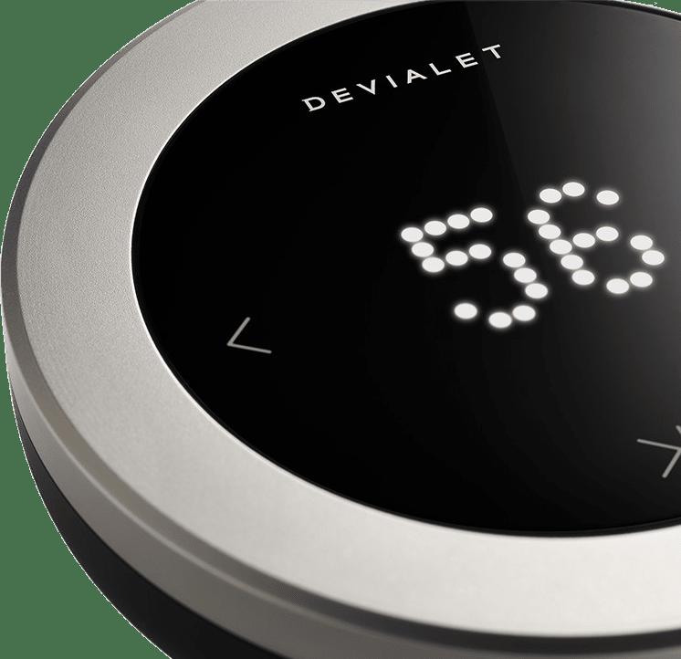 Matt Black Devialet High Precision Remote Control for Phantom.4