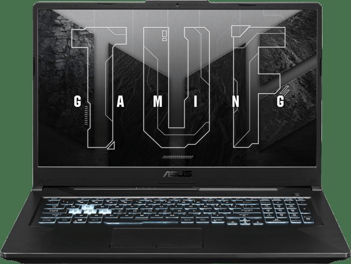 Schwarz Asus TUF Gaming A17 FA706QM-HX008T - Gaming Notebook - AMD Ryzen™ 7 5800H - 32GB - 1TB SSD - NVIDIA® GeForce® RTX 3060.1