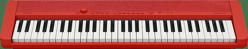 Rojo Piano digital portátil de 61 teclas Casio CT-S1.3