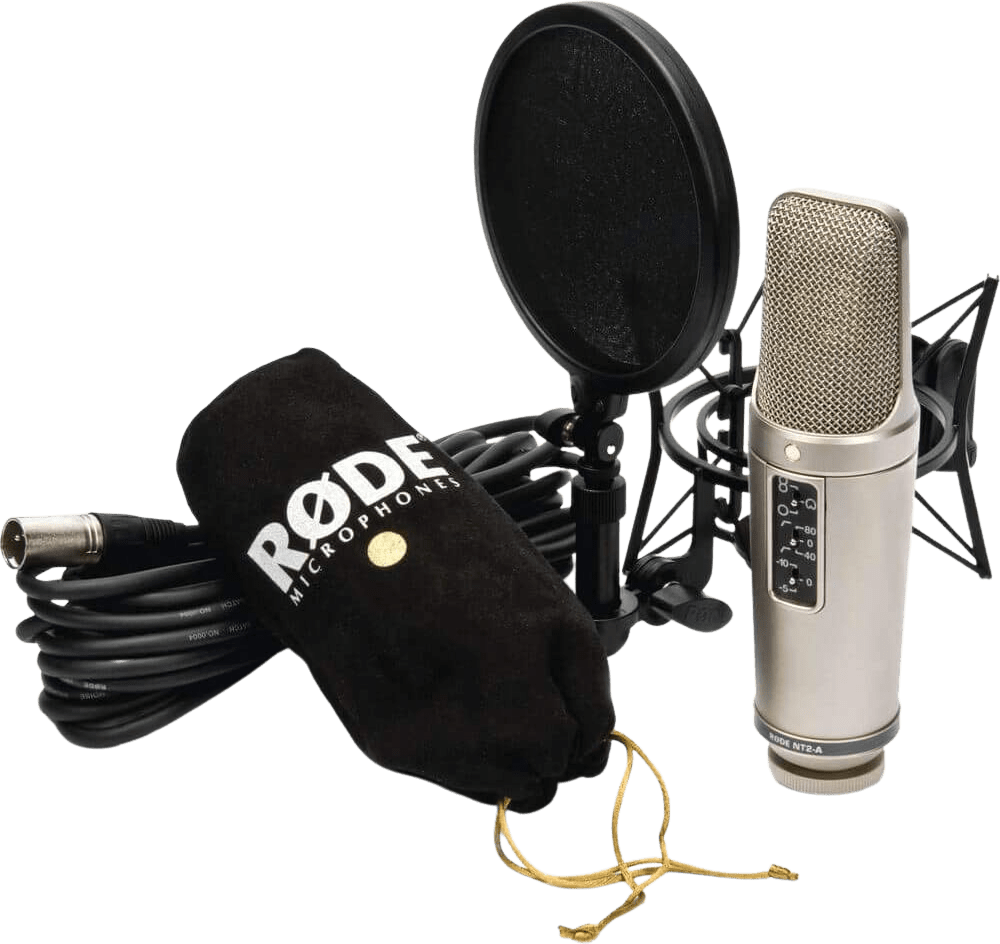 Black Rode NT2-A Large-diaphragm Microphone.5