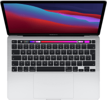 "Apple 13"" MacBook Pro (Late 2020) - English (QWERTY) Laptop - Apple M1 - 8GB - 256GB SSD - Apple Integrated 8-core GPU"