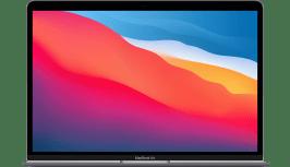 Apple MacBook Air (Late 2020) - English (QWERTY) Laptop - Apple M1 - 8GB - 512GB SSD - Apple Integrated 8-core GPU