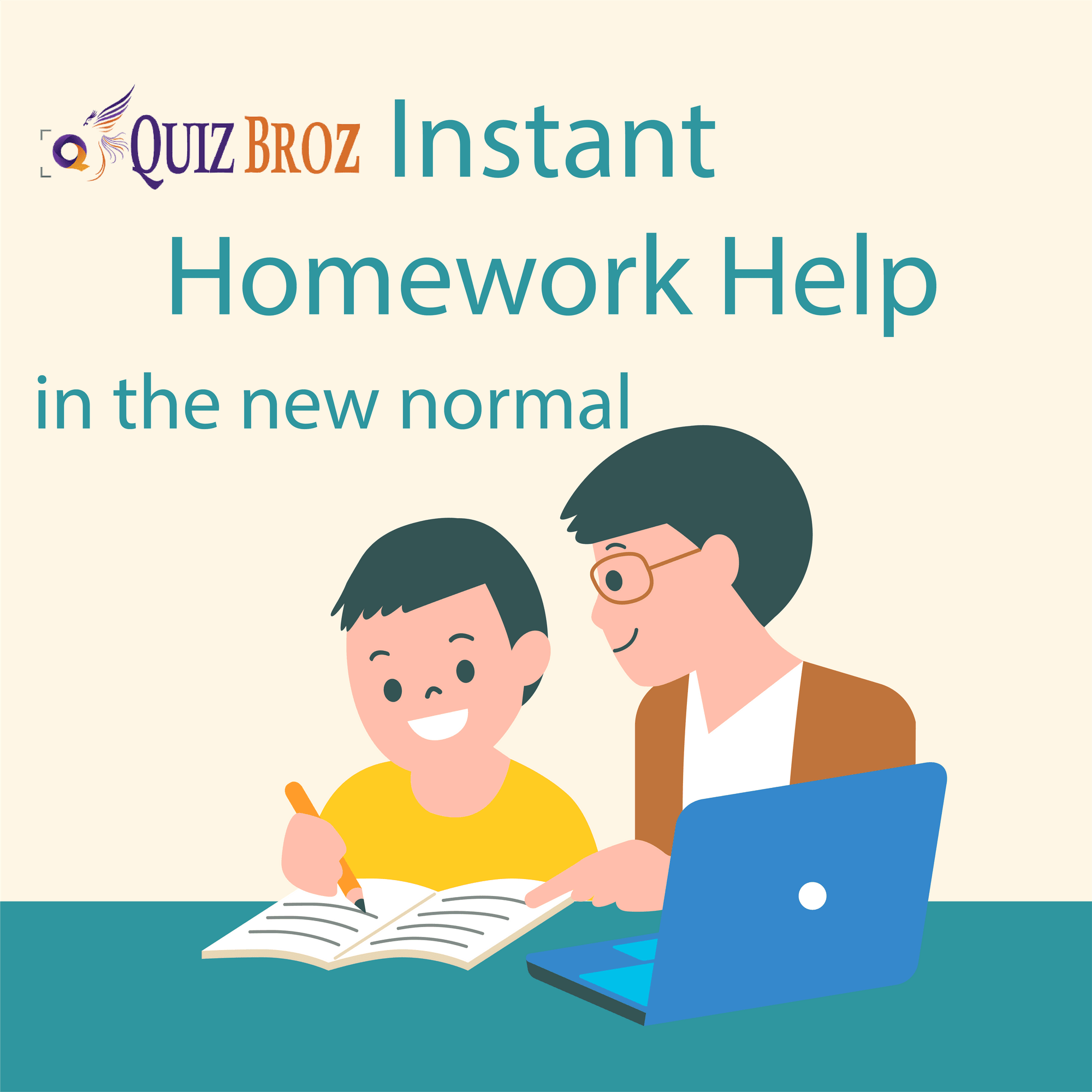 Instant online homework helper @QuizBroz