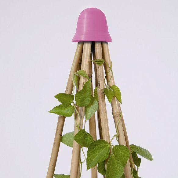 Haxnicks' Pink 8 Cane Topper