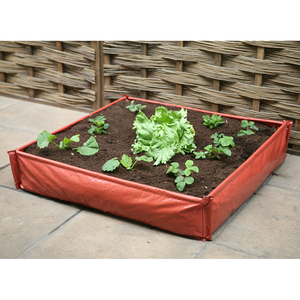 Amazing Instant Patio Raised Bed From Haxnicks