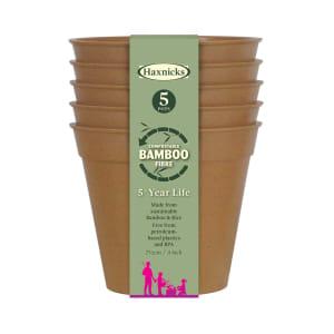 "3"" Bamboo Pots - Terracotta"