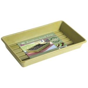 Sage Green Bamboo Seed Trays