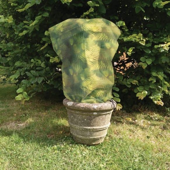 Green Fern Fleece Jackets - Small