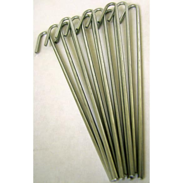 Pack of 12 Ground Pegs from Haxnicks