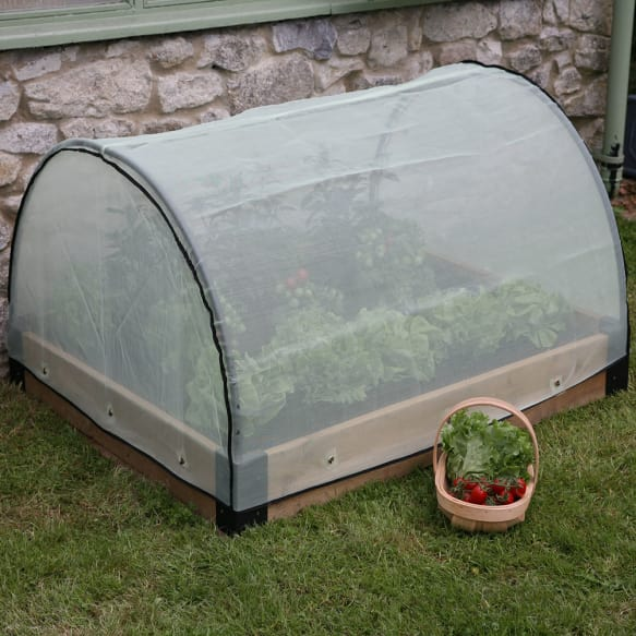 Raised Bed Micro Mesh Cover from Haxnicks