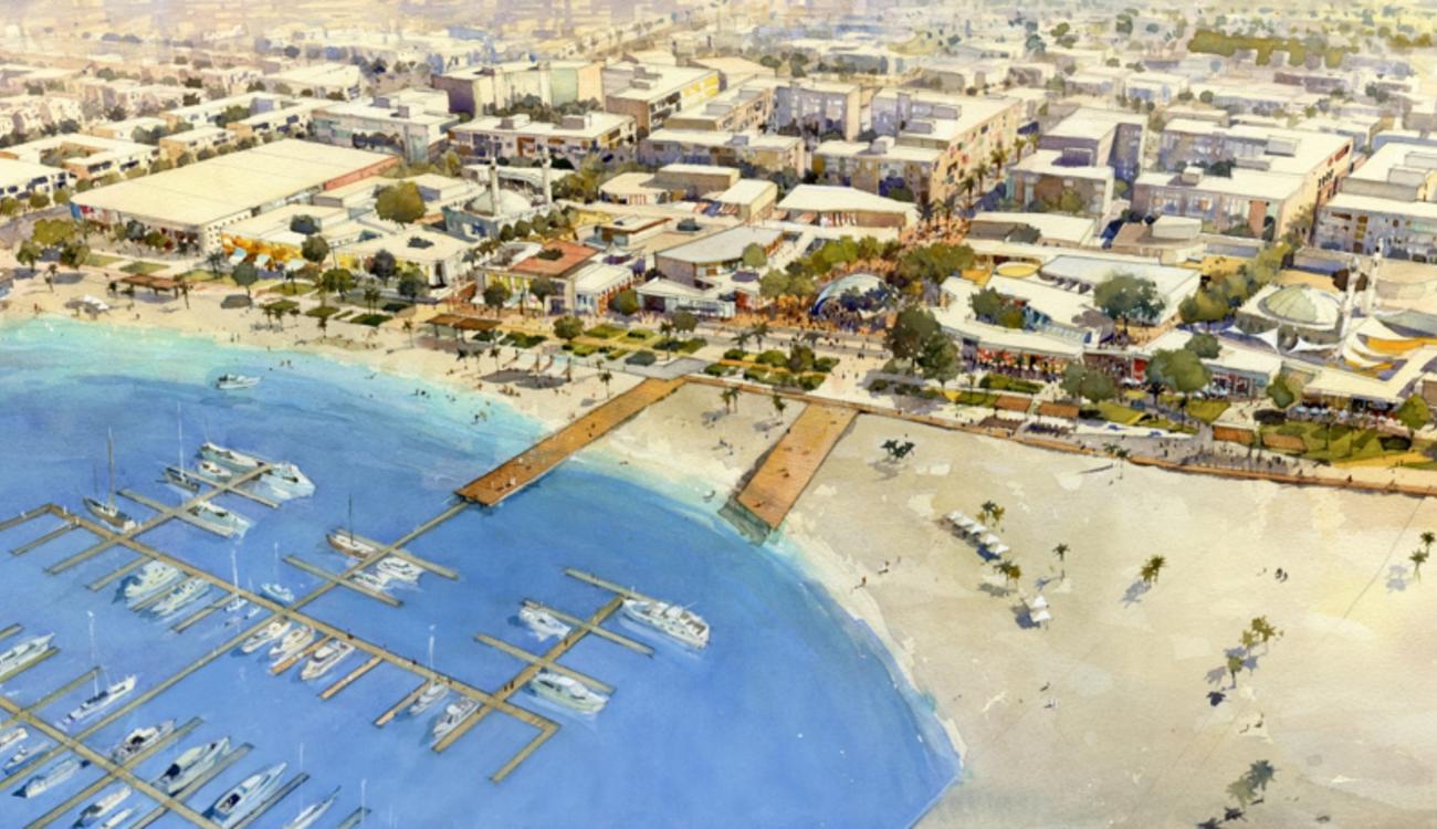 Sharjah Beach Central Shore District