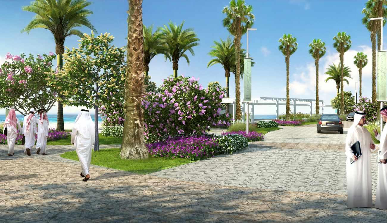 Sharjah Beach Shore
