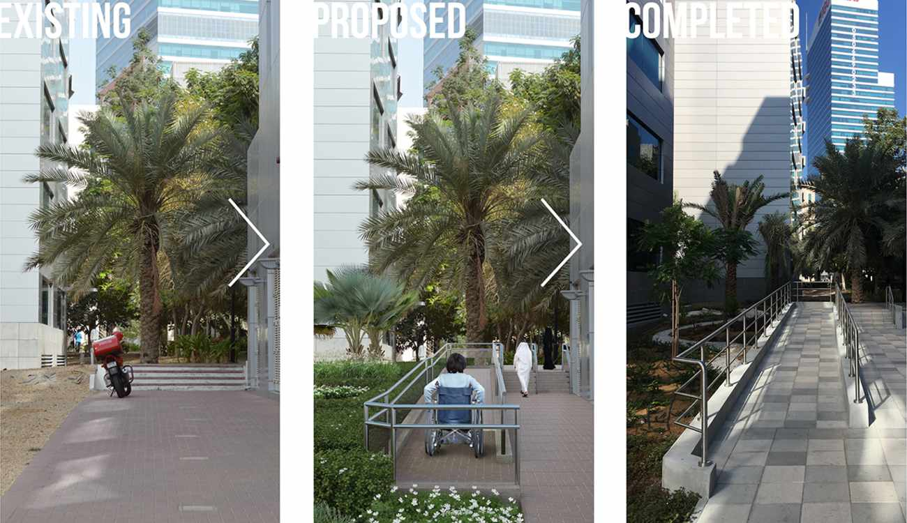 TECOM pedestrian and cycle connectivity upgrade