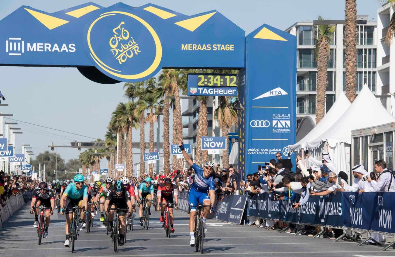 Al Mustaqbal Street hosts the Dubai Tour 2016