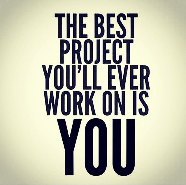 The best project you'll ever work on is YOU!