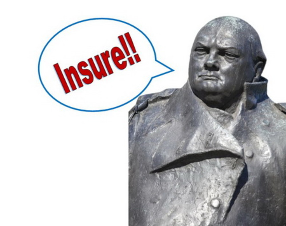 The importance of insurance – according to Winston Churchill!
