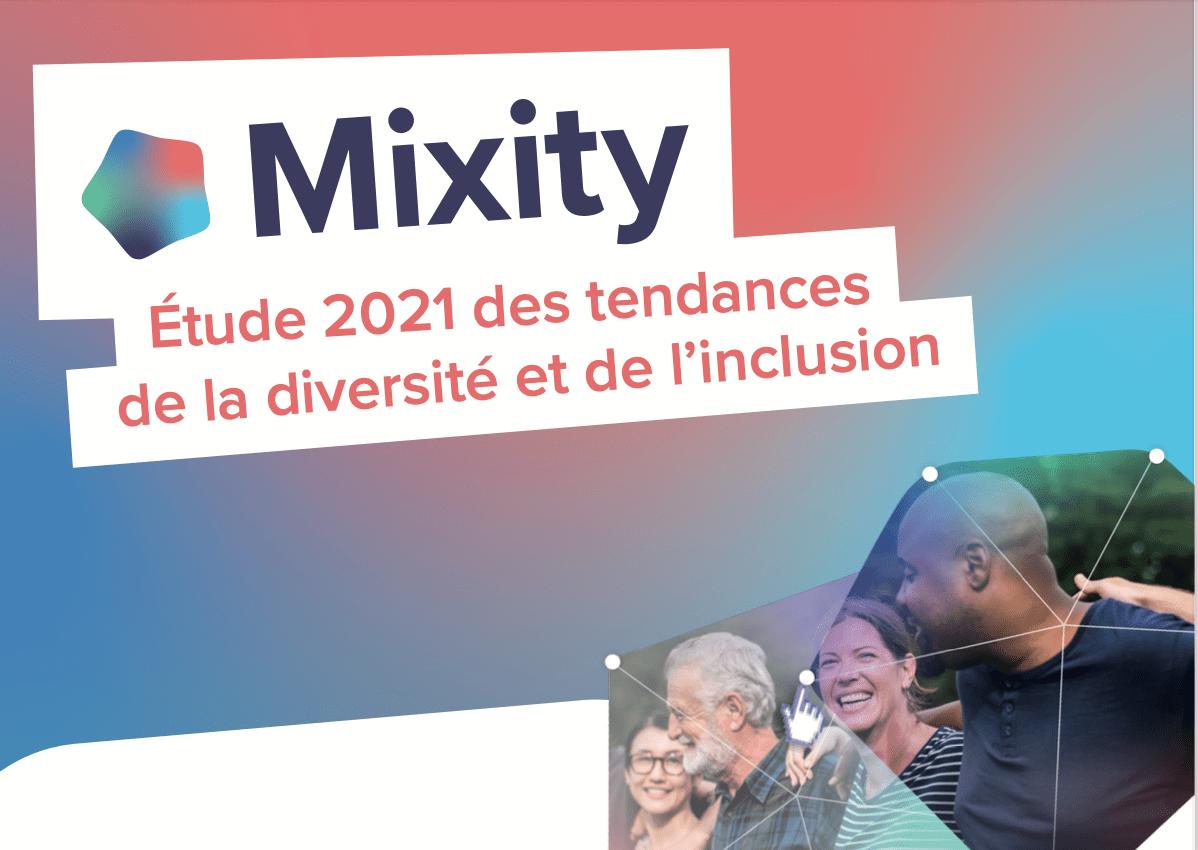 Etude Mixity sur les tendances 2021 de la diversité et de l'inclusion