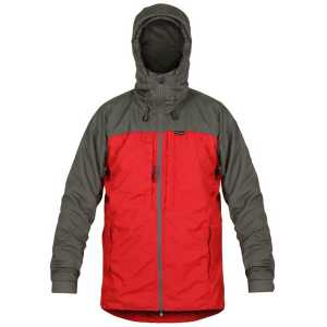 Paramo Alta III Waterproof Jacket - Fire/Rock Grey