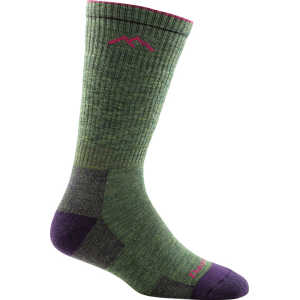 Darn Tough 1907 Womens Hiker Boot Cushion Sock - Moss Heather