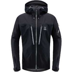 Haglofs Mens Spitz Gore-Tex Wateproof Jacket - True Black