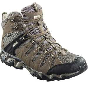 Meindl Womens Respond Mid GTX Walking Boots - Brown/Nature