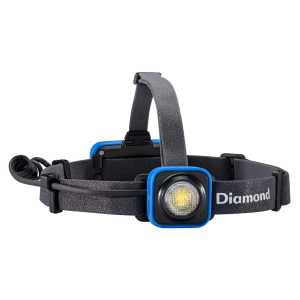 Black Diamond Sprinter Rechargeable Head Torch - Smoke Blue