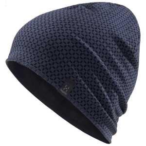 Haglofs Fanatic Printed Beanie Cap - Dense Blue/Tarn Blue