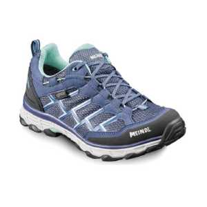Meindl Womens Activo Wide Fit GTX Walking Shoe - Blue/Mint