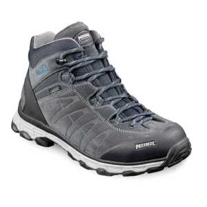 Meindl Asti Lady Mid GTX Wide Fit Walking Boots - Anthracite/Turquoise