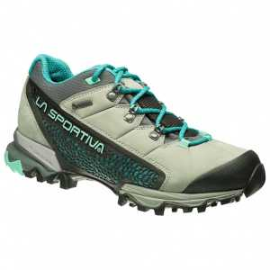 La Sportiva Womens Genesis GTX Hiking Shoes - Grey/Mint