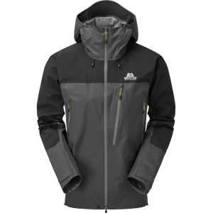 Mountain Equipment Lhotse GTX Pro Waterproof Jacket - Anvil Grey/Black