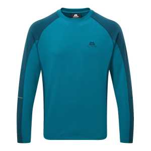 Mountain Equipment Committed Crew Sweater - Tasman Blue/Legion Blue