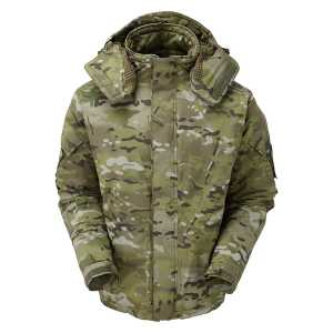Keela Special Forces Waterproof Belay Jacket - Field Camo