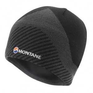 Montane Logo Beanie Hat - Black - One Size