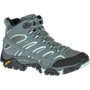 Merrell Womens Moab 2 Mid GTX Walking Boots - Sedona/Sage