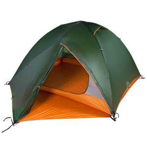 Nigor Guam 3 Lightweight Backpacking Tent - Willow Bough/Burnt Orange