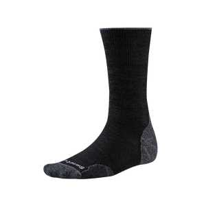 Smartwool PhD Outdoor Light Crew Socks - Charcoal