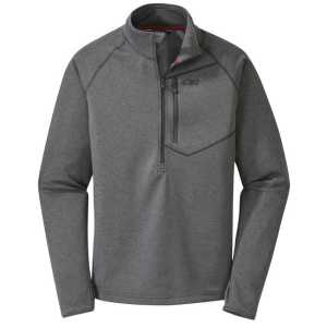 Outdoor Research Mens Starfire Zip-Top - Charcoal