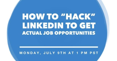 How to Hack LinkedIn to get a job